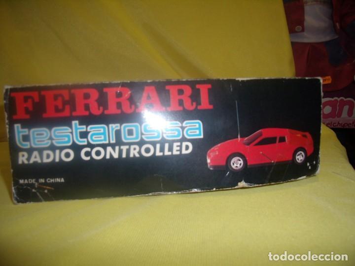 Radio Control: Ferrari Testarossa Radio Control, años 80, escala 1/18, funcionando, Nuevo. - Foto 8 - 90358516