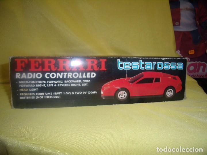 Radio Control: Ferrari Testarossa Radio Control, años 80, escala 1/18, funcionando, Nuevo. - Foto 9 - 90358516