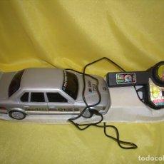 Radio Control: COCHE BMW 735I , DIRIGIDO CABLE, AÑOS 80, FUNCIONANDO, NUEVO.. Lote 90557210