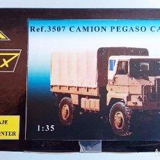 Radio Control: NIMIX REF 3507 KIT DE MONTAJE EN RESINA PEGASO CARGA 3046 4X4. Lote 92163235