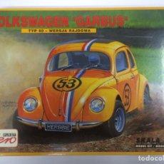 Radio Control: VW VOLKSWAGEN BEETLE ESCARABAJO HERBBIE AEROPLAST ESCALA 1/35, NUEVO.. Lote 104536883