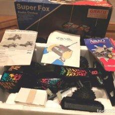 Radio Control: NIKKO SUPER FOX, AÑOS 80 FUNCIONANDO.. Lote 104555099