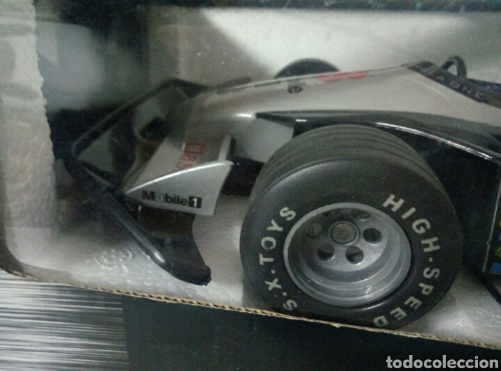 Radio Control: A ESTRENAR! SUPER F1 RACER COCHE RADICONTROL PLATEADO MEDIDAS 35X17CMS VER FOTOS - Foto 4 - 106926743