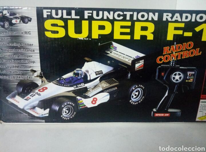 Radio Control: A ESTRENAR! SUPER F1 RACER COCHE RADICONTROL PLATEADO MEDIDAS 35X17CMS VER FOTOS - Foto 9 - 106926743