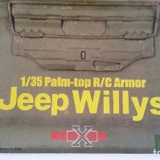 Radio Control: JEEP WILLYS 1/35 PALM-TOP R/C ARMOR - MICRO TECH - DRAGON-JEEP . Lote 109081759