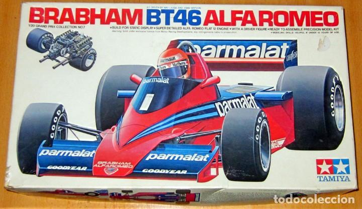 Radio Control: BRABHAM BT46 ALFA ROMEO –PARMALAT, ESCALA 1/20 TAMIYA MADE IN JAPAN DESCATALOGADO - Foto 1 - 110133619