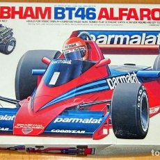 Radio Control: BRABHAM BT46 ALFA ROMEO –PARMALAT, ESCALA 1/20 TAMIYA MADE IN JAPAN DESCATALOGADO. Lote 110133619