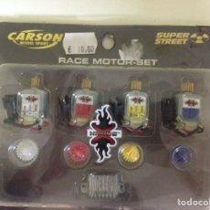 Radio Control: PACK DE MOTORES COMPETICIÓN MINI Z CARSON. Lote 111422542