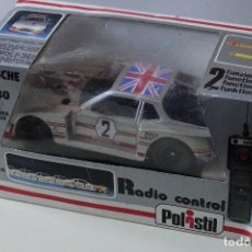 Radio Control - Polistil PORSCHE 924 TURBO RADIO CONTROL RC 104 1:23 DIE CAST METAL año 1981 MIB años 80 RC104 - 140037670