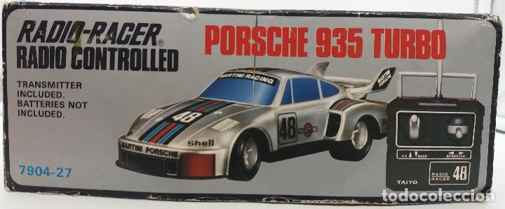 Radio Control: Porsche 935 turbo Martini 48 plata de Taiyo referencia 7904-27 - FUNCIONANDO - Foto 6 - 112330683