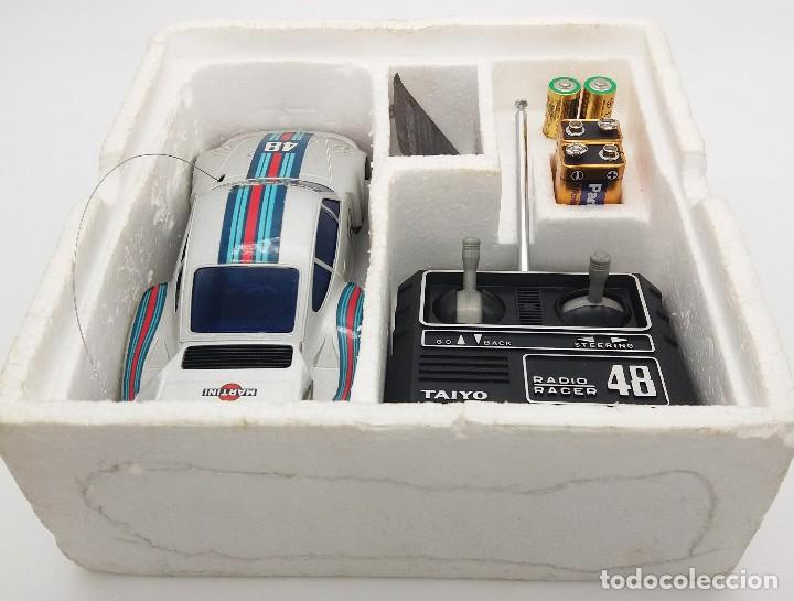 Radio Control: Porsche 935 turbo Martini 48 plata de Taiyo referencia 7904-27 - FUNCIONANDO - Foto 7 - 112330683
