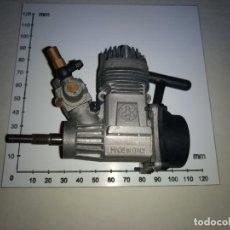 Radio Control: MOTOR GASOLINA PARA MODELISMO MARCA SIRIO MADE EN ITALIA-COCHE O AVIONES . Lote 113015079