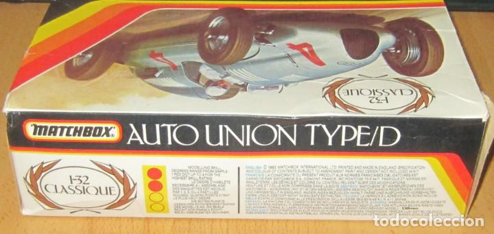 AUTO UNION TYPE/D ESCALA 1/32 MATCHBOX DESCATALOGADO AÑO 1983 (Juguetes - Modelismo y Radiocontrol - Radiocontrol - Coches y Motos)