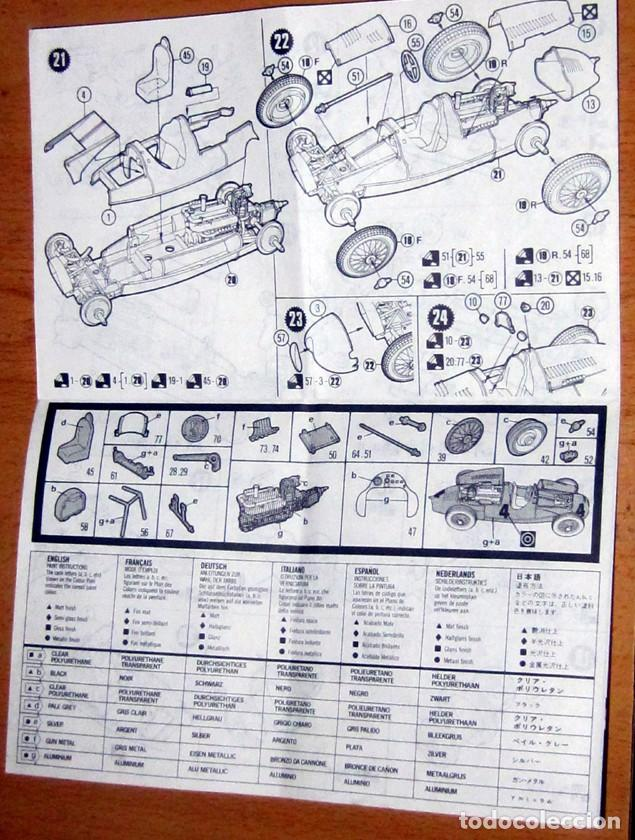 Radio Control: AUTO UNION TYPE/D ESCALA 1/32 MATCHBOX DESCATALOGADO AÑO 1983 - Foto 7 - 113043543