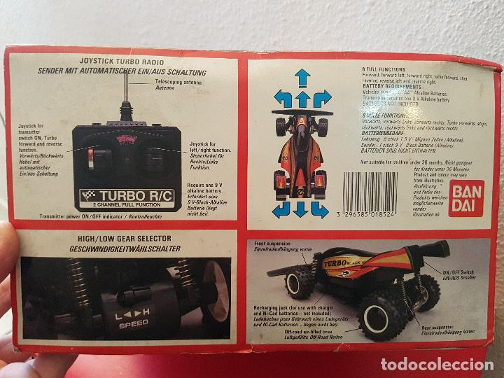 Radio Control: RARO COCHE RC RADIO CONTROL BANDAI 1987 BUGGY OFF ROAD BLACK MAX RACER SUPER TURBO POWER - Foto 12 - 113254379