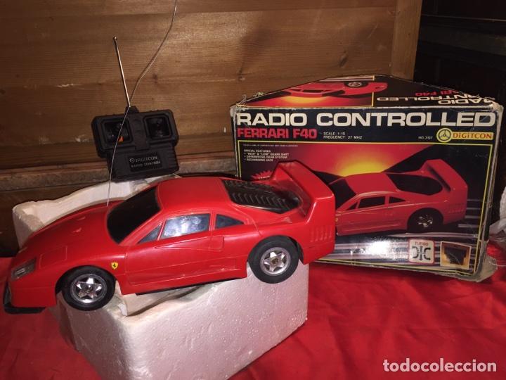FERRARI F40 RADIO CONTROL AÑOS 80 (Juguetes - Modelismo y Radiocontrol - Radiocontrol - Coches y Motos)
