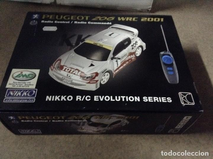 PEUGEOT 205 WRC ,NIKKO R/C EVOLUTION (Juguetes - Modelismo y Radiocontrol - Radiocontrol - Coches y Motos)