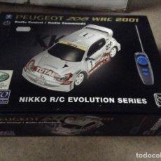 Radio Control: PEUGEOT 205 WRC ,NIKKO R/C EVOLUTION. Lote 114918935
