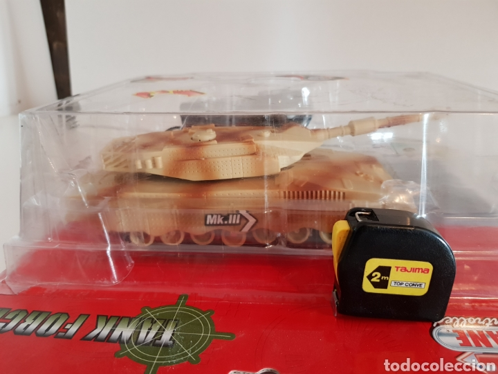 Radio Control: TANQUE RADIOCONTROL MKIII CON CABLE MEDIDAS 25X11CMS - Foto 2 - 115008168