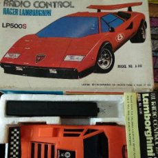Radio Control: COCHE RADIO CONTROL LAMBORGHINI COUNTACH LP500S DYNAMIC TOYS JAPON DIFICIL CAJA. Lote 116830715