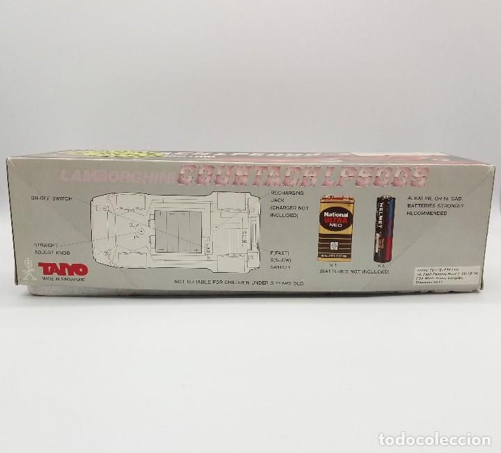Radio Control: LAMBORGHINI COUNTACH LP500S TAIYO RADIO CONTROL Nº 8762 - Foto 8 - 117068087