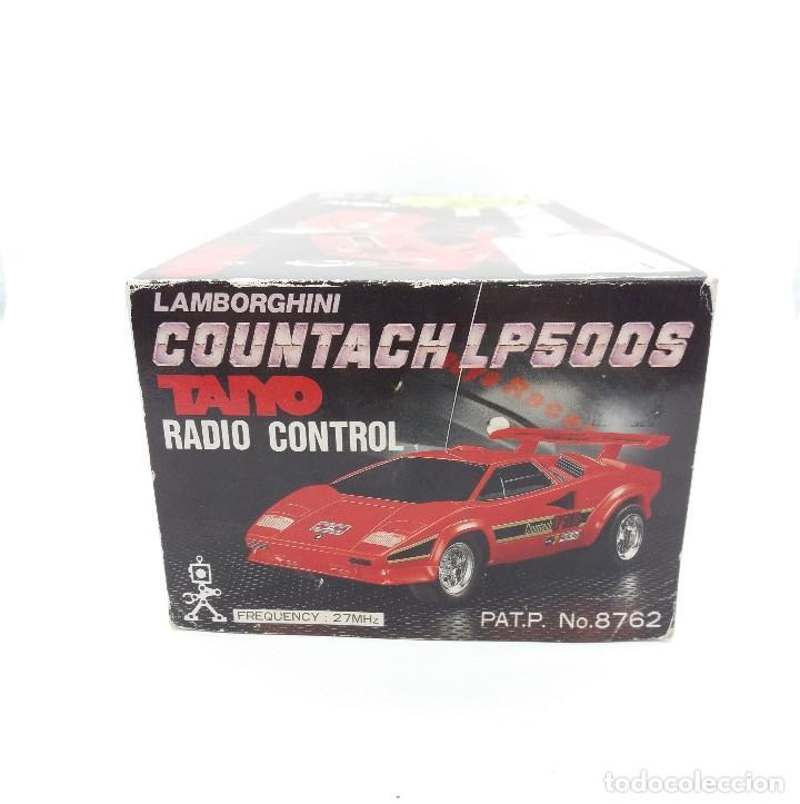 Radio Control: LAMBORGHINI COUNTACH LP500S TAIYO RADIO CONTROL Nº 8762 - Foto 10 - 117068087