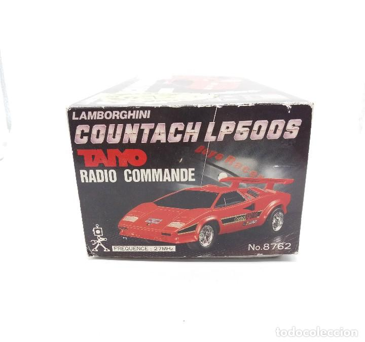 Radio Control: LAMBORGHINI COUNTACH LP500S TAIYO RADIO CONTROL Nº 8762 - Foto 12 - 117068087