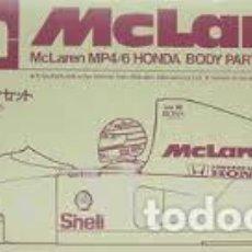 Radio Control: TAMIYA - MCLAREN MP4/6 HONDA BODY PARTS SET 40029 1/14. Lote 119492715
