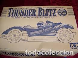TAMIYA - THUNDER BLITZ BODY PARTS SET 50779 1/10 (Juguetes - Modelismo y Radiocontrol - Radiocontrol - Coches y Motos)