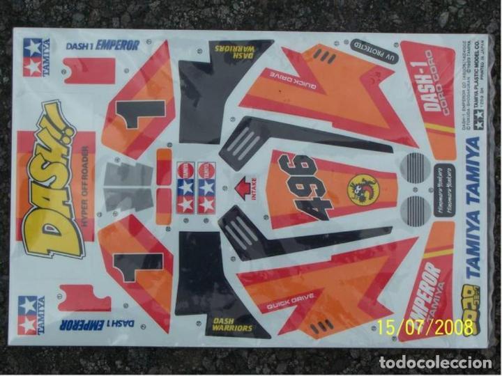 Radio Control: TAMIYA - DASH-1 EMPEROR BODY PARTS SET 43010 1/14 - Foto 3 - 119492867