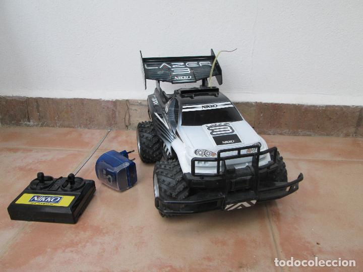 COCHE RADIOCONTROL LAZZER 3 DE NIKKO, FUNCIONANDO AÑOS 90. (Juguetes - Modelismo y Radiocontrol - Radiocontrol - Coches y Motos)