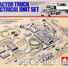 Radio Control: TAMIYA - TRACTOR TRUCK ELECTRICAL UNIT SET LIGHTS & BACKING BEEPER 1/14 56501. Lote 139676661