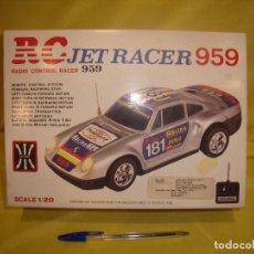 Radio Control: PORCHE 959 JET RACER, RADIO CONTROL, R/C, 7 FUNCIONES, CON LUCES, FUNCIONA, NUEVO SIN USAR.. Lote 162546168