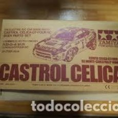 Radio Control: TAMIYA - CASTROL CELICA GT-FOUR RC BODY PARTS SET 50521 1/10. Lote 122046759