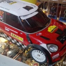 Radio Control: NIKKO MINI COUNTRYMAN WRC 1:16 RADIOCONTROL SIN MANDO. Lote 122072707