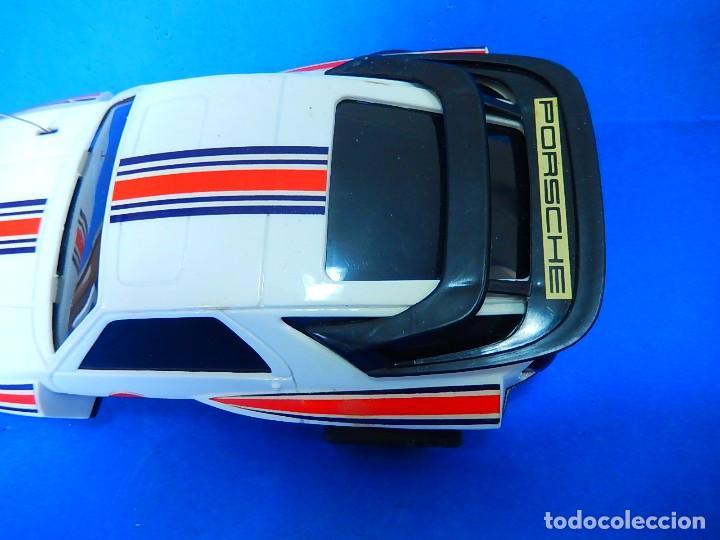 Radio Control: Porche Super Turbo Clasiic 928. Radiocontrol. Radcon. Nº 5805. Fabricado en China. Escala 1/18 - Foto 17 - 122191607