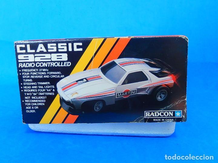 Radio Control: Porche Super Turbo Clasiic 928. Radiocontrol. Radcon. Nº 5805. Fabricado en China. Escala 1/18 - Foto 28 - 122191607