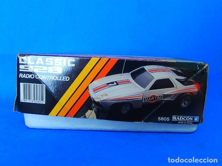 Radio Control: Porche Super Turbo Clasiic 928. Radiocontrol. Radcon. Nº 5805. Fabricado en China. Escala 1/18 - Foto 29 - 122191607