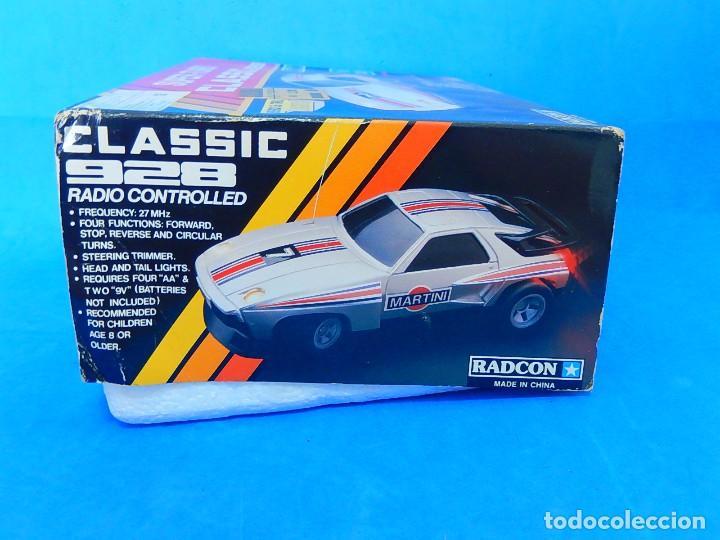 Radio Control: Porche Super Turbo Clasiic 928. Radiocontrol. Radcon. Nº 5805. Fabricado en China. Escala 1/18 - Foto 30 - 122191607
