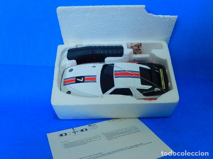 Radio Control: Porche Super Turbo Clasiic 928. Radiocontrol. Radcon. Nº 5805. Fabricado en China. Escala 1/18 - Foto 31 - 122191607