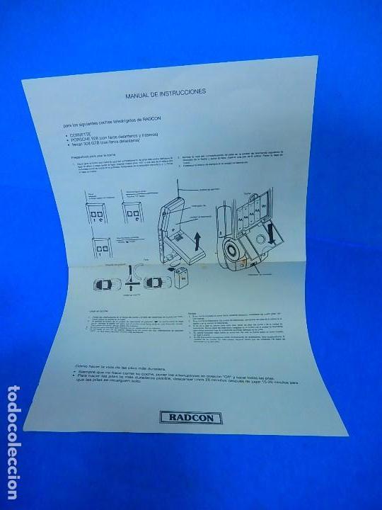 Radio Control: Porche Super Turbo Clasiic 928. Radiocontrol. Radcon. Nº 5805. Fabricado en China. Escala 1/18 - Foto 33 - 122191607