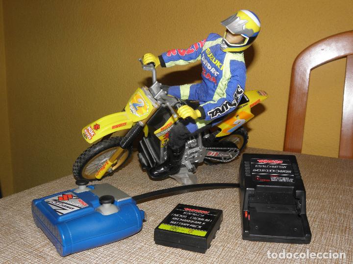 MOTO RC SUZUKI RM250. TAIYO, BIZAK. (Juguetes - Modelismo y Radiocontrol - Radiocontrol - Coches y Motos)