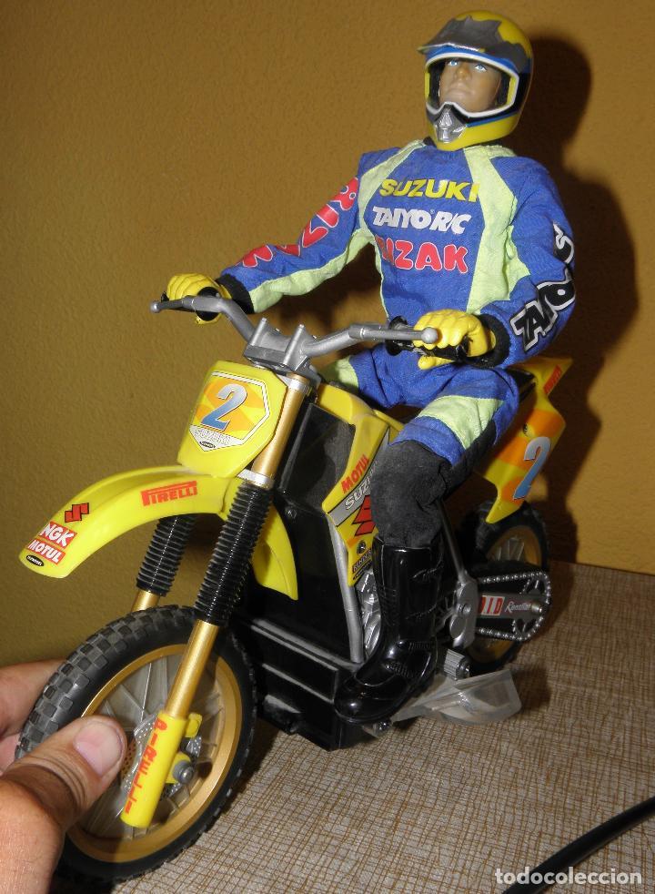 Radio Control: Moto RC Suzuki RM250. Taiyo, Bizak. - Foto 4 - 164630910