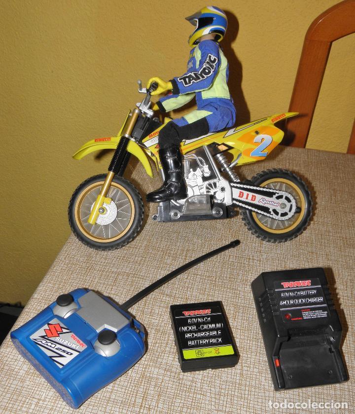 Radio Control: Moto RC Suzuki RM250. Taiyo, Bizak. - Foto 7 - 164630910