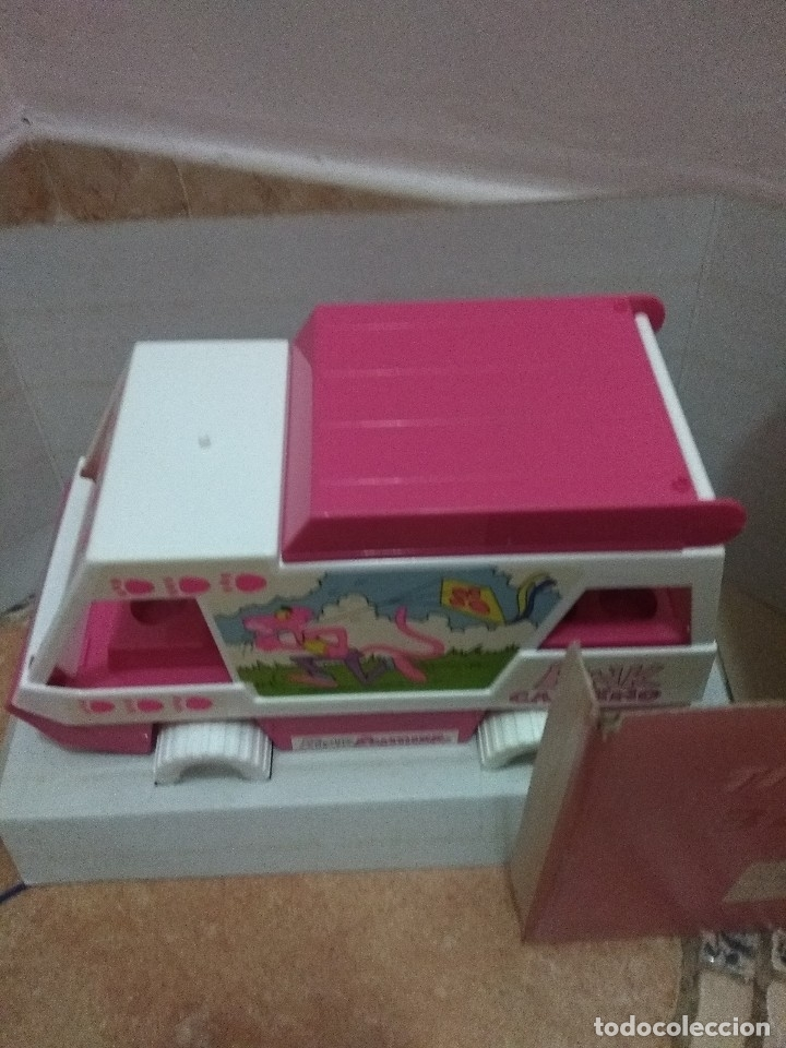 Radio Control: Caravana de juguete pantera rosa - Foto 2 - 107356203