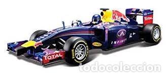 Radio Control: COCHE DE CARRERAS DE RADIO CONTROL 1/24 MAISTOTECH Maisto Tech - RC Red Bull RB10 #1 S. Vettel Azul - Foto 2 - 128167531