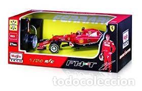 Radio Control: COCHE DE CARRERAS DE RADIO CONTROL 1/24 MAISTOTECH Maisto Tech - RC Red Bull RB10 #1 S. Vettel Azul - Foto 5 - 128167531