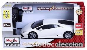 Radio Control: COCHE LAMBORGHINI HURACAN RADIO CONTROL 1/24 Maisto Tech - color BLANCO - Foto 2 - 145342536