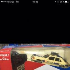 Radio Control: COCHE POLICIA NIKKO MERCEDES. Lote 128252887