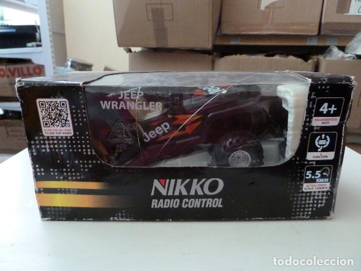 JEEP RADIO CONTROL NIKKO ESCALA 1/24 (Juguetes - Modelismo y Radiocontrol - Radiocontrol - Coches y Motos)